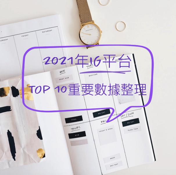2021年度INSTAGRAM平台的10大重要數據整理